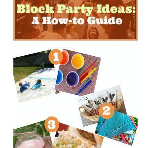 Block Parties Decorations