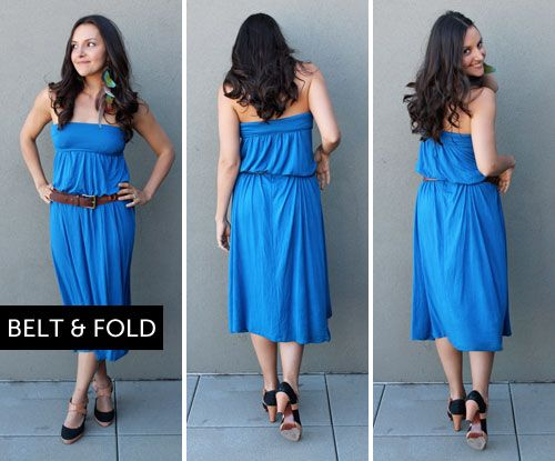 How to style jersey maxi dress
