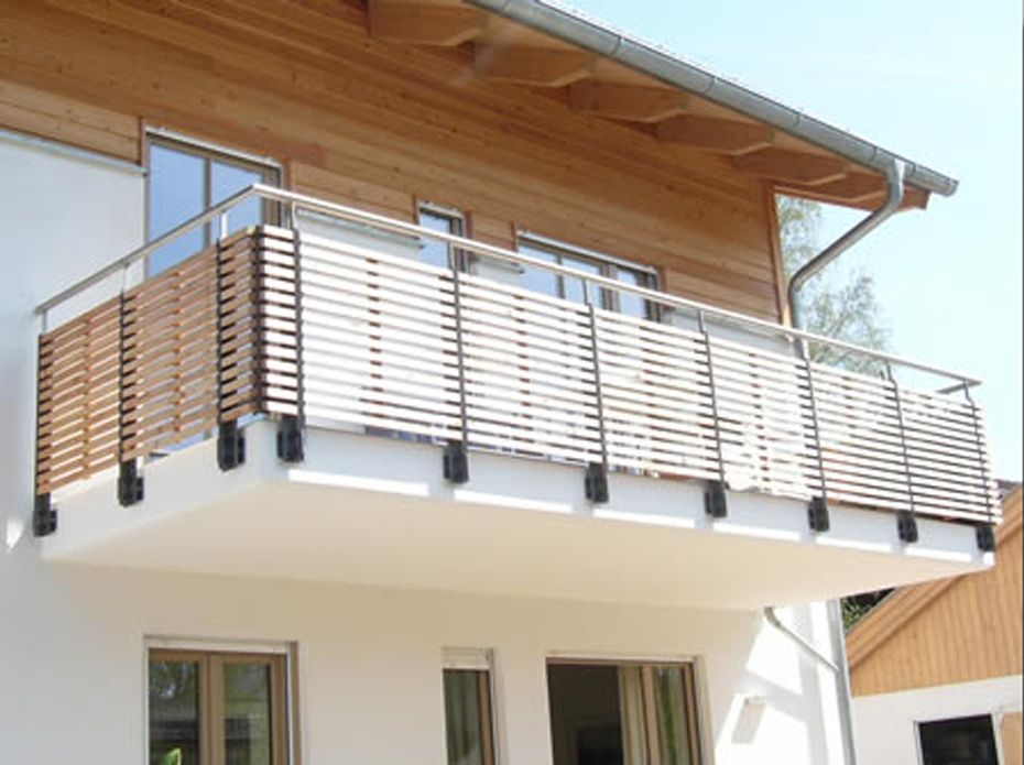 Modern Geländer Balkon - Google-suche | Balkon | Pinterest | Modern Neue Gelander Fur Terrasse Und Balkon Aus Holz Edelstahl Oder Glas