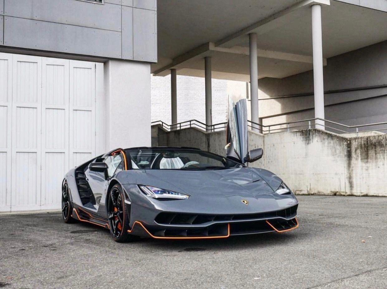 Lamborghini Centenario Roadster Painted In Grigio Telesto W