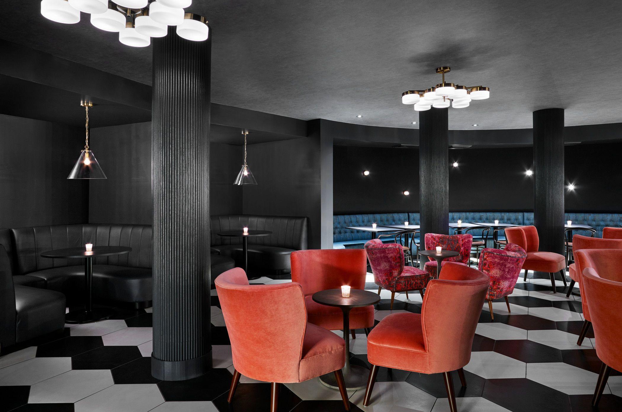 Gypsy Rose Bar Indoor Riviera Palm Springs