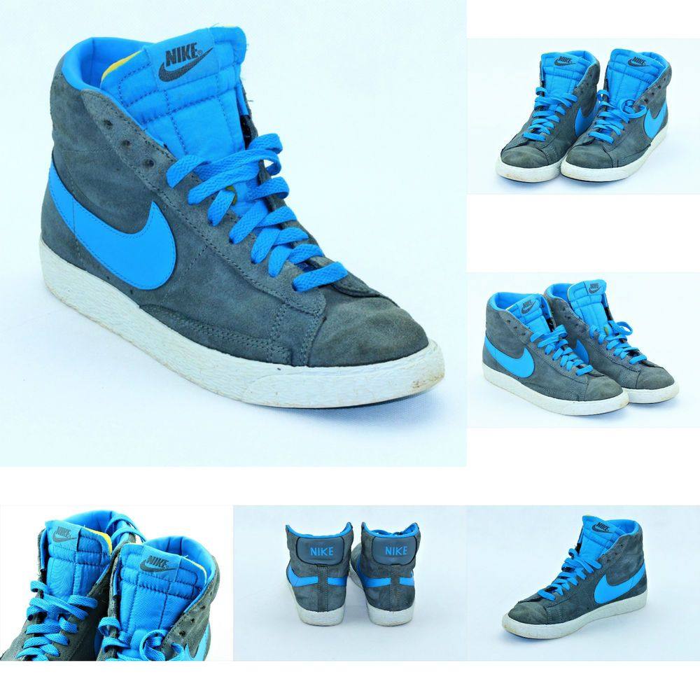 Nike Blazers Chaussures Habillées Travestissement Gris