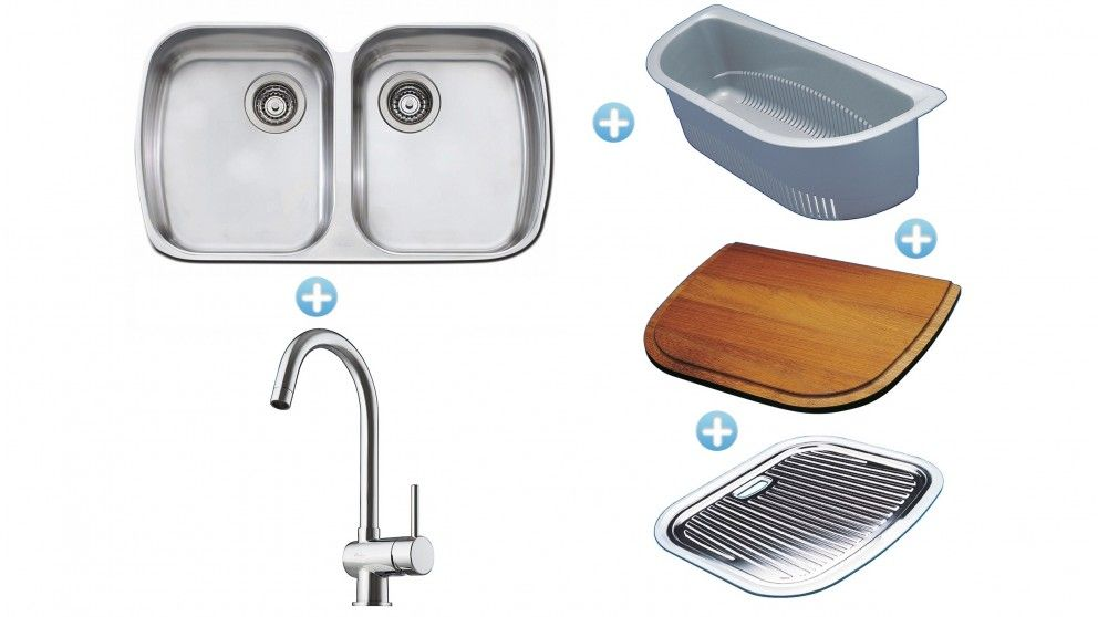 Oliveri Sink, Mixer and Accessories Package - Sinks - Sinks & Taps ...