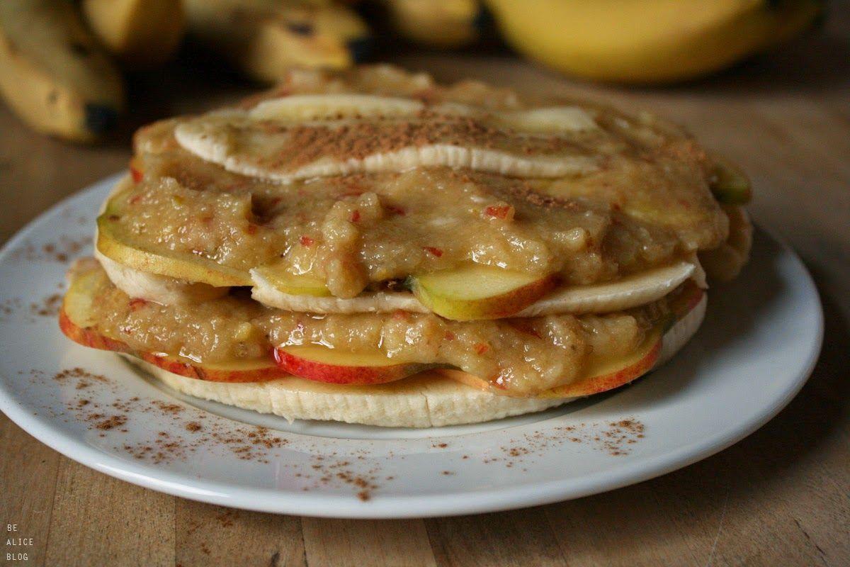 Becoming Alice: Banana Apple Strudel (raw, vegan)