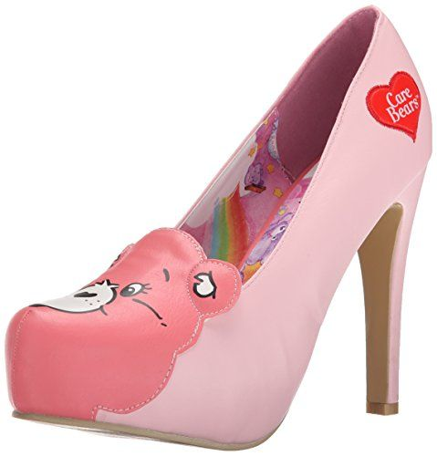 Iron Fist Women's Care Bear Stare Pump, Pink, ...