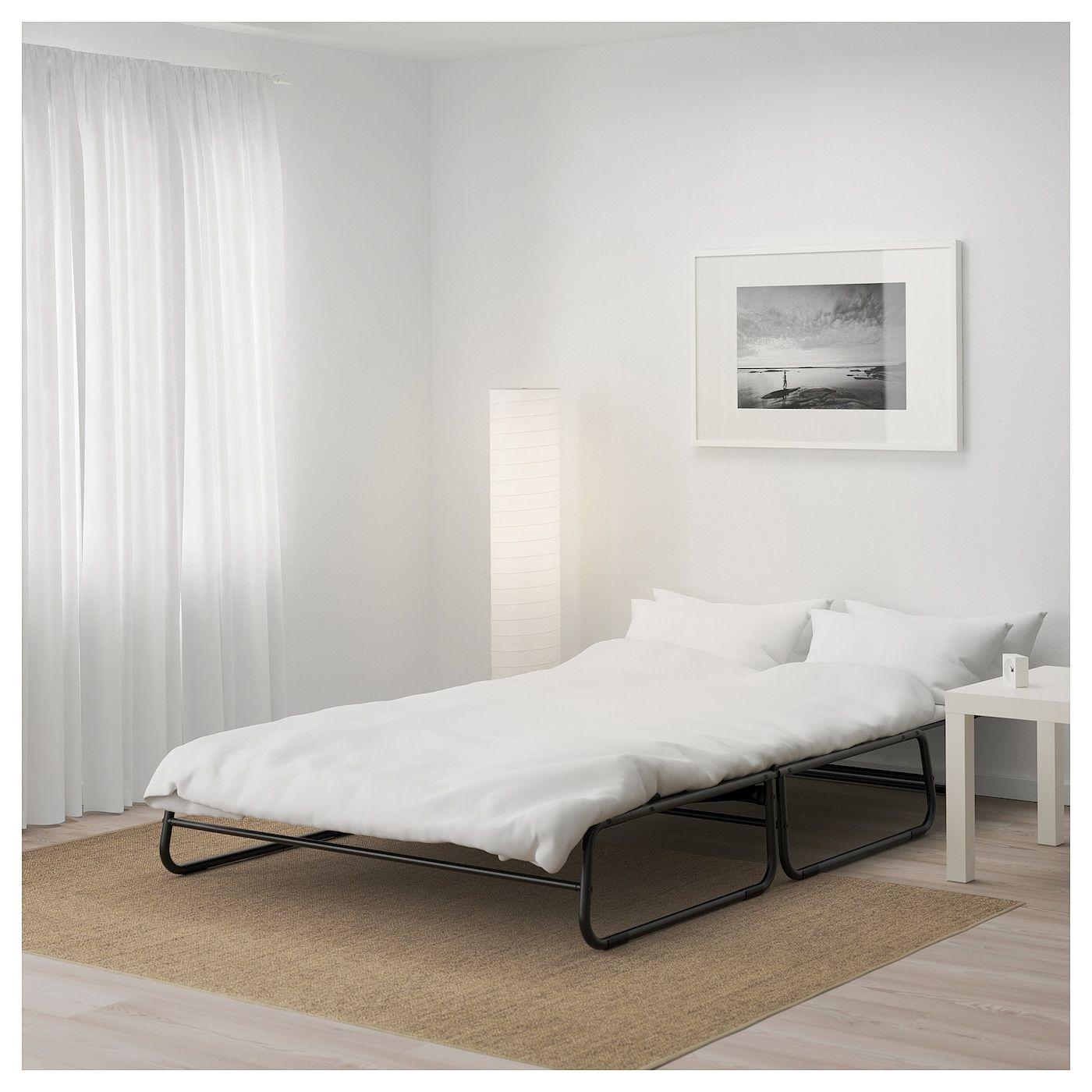 Ikea Hammarn Futon Knisa Dark Gray