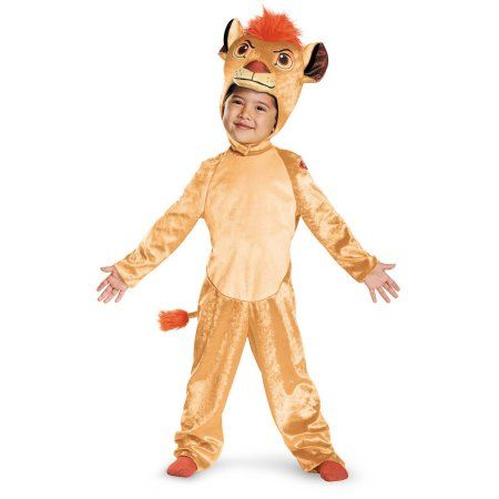 The Lion Guard Kion Classic Toddler Halloween Costume, Toddler Boy's, Size: 36 - 48 Months, Multicolor