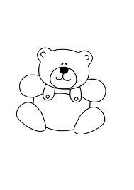 teddy bear clip art black and white google search rhyming words rh pinterest co uk Car Clip Art Black and White Girl Clip Art Black and White