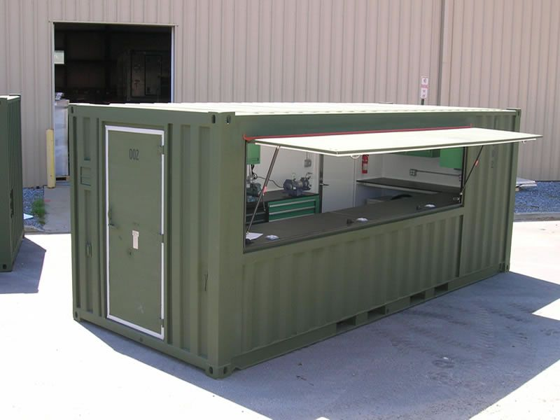 Lista Military Workbenches In Mobile Workshop Shipping Container Workshop Container Shop Container House