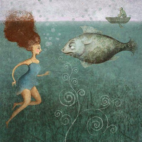 Russian Illustratior Elena Lishanskaya