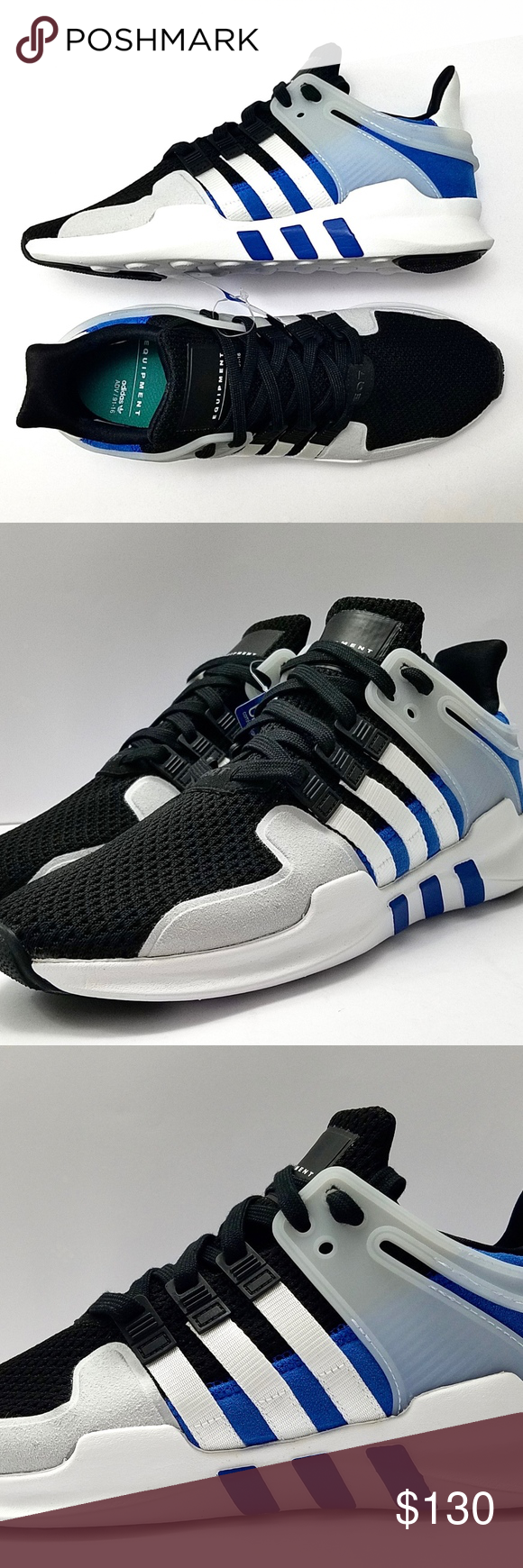 outlet store 76cff 38a21 Adidas EQT Support ADV Shoes BY9583 Adidas EQT Support ADV Shoes Mens Size  11.5 Black White