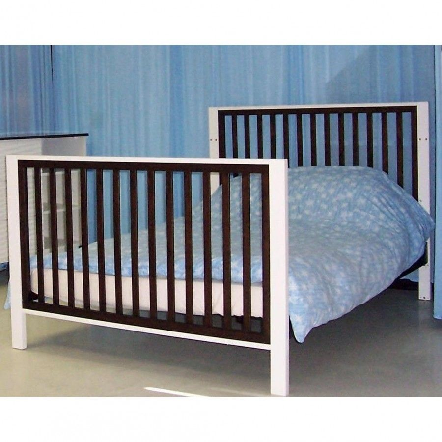 baby furniture moderno full size conversion kit in espresso   - eden baby furniture moderno full size conversion kit in espresso