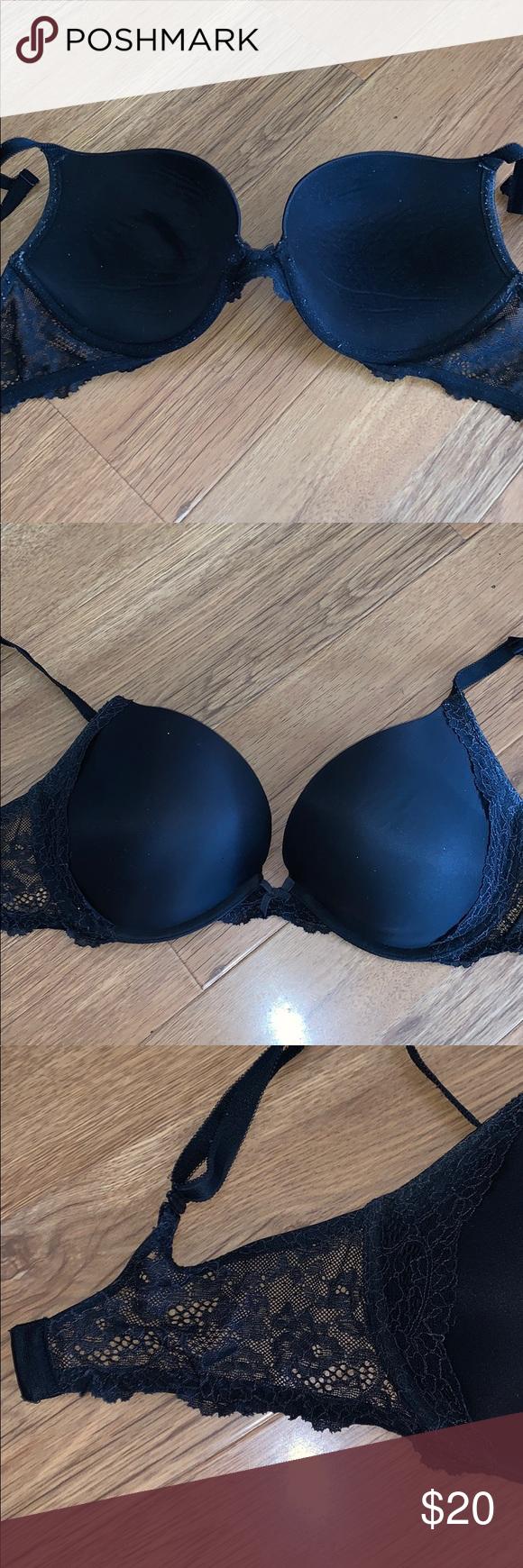 Victorias Secret Size 34B Very Sexy Push Up Bra Fishnnet