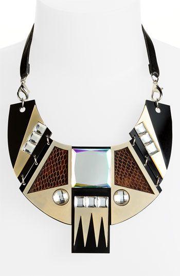 Spring Street Design Group 'Daly' Bib Necklace available at #Nordstrom