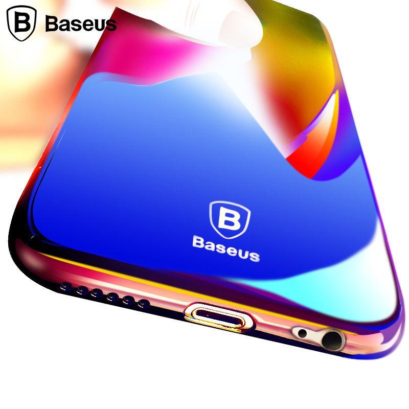 Baseus Case For Apple iPhone 6 6S / 6 6S Plus Luxury Gradient ...