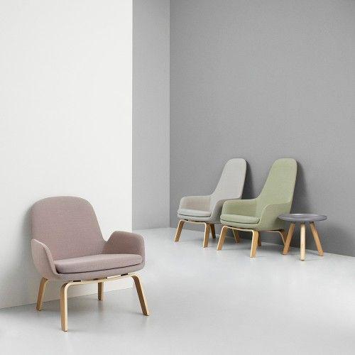 Normann Copenhagen Era Low Back Lounge Chair (met