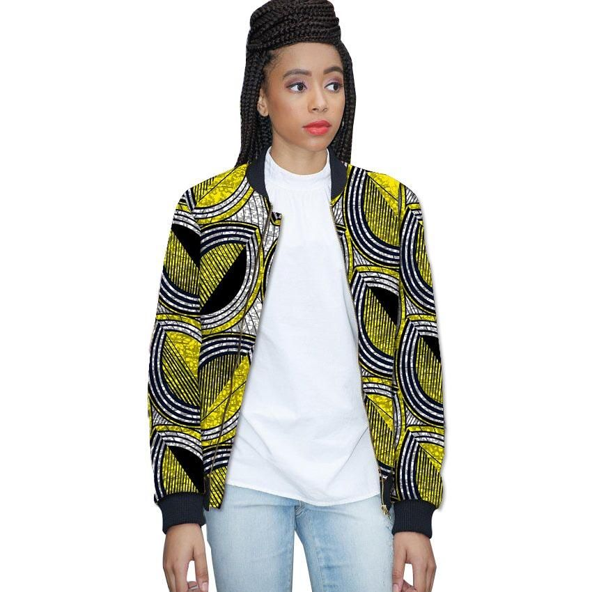 157106c671 women print african jacket tailored dashiki clothes ladies short coat  africa clothing