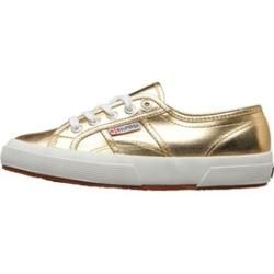 Photo of Superga Damen 2750 Cotmetu Freizeit Schuhe Gold Supergasuperga