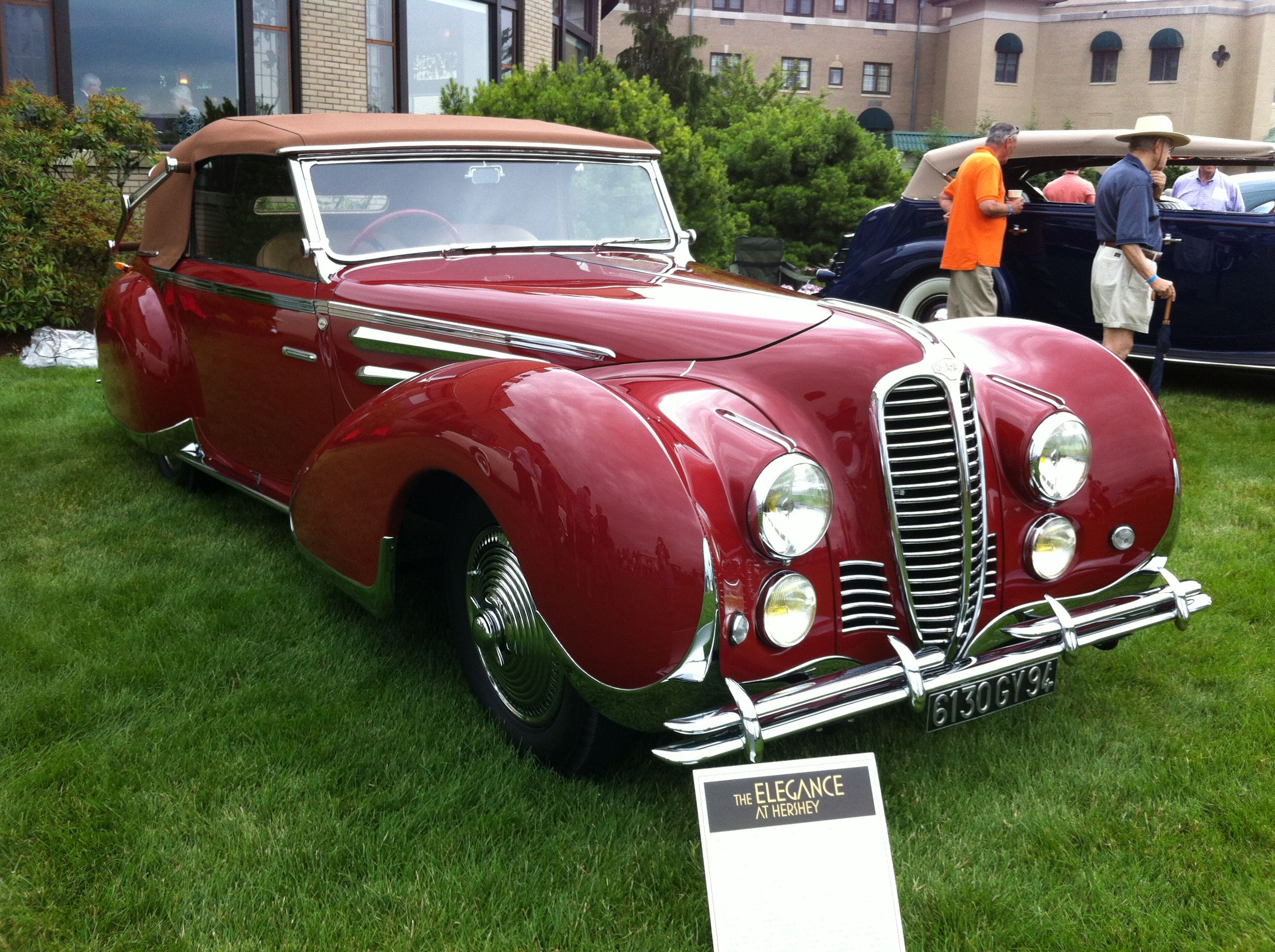 The Elegance Car Show At The Hotel Hershey In Association With The - Aaca museum car show