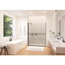 Holcam Distinctive Elite 59 1 16 60 In X 71 3 8 In Semi Frameless Swing Door With In Frameless Sliding Shower Doors Frameless Hinged Shower Door Shower Doors