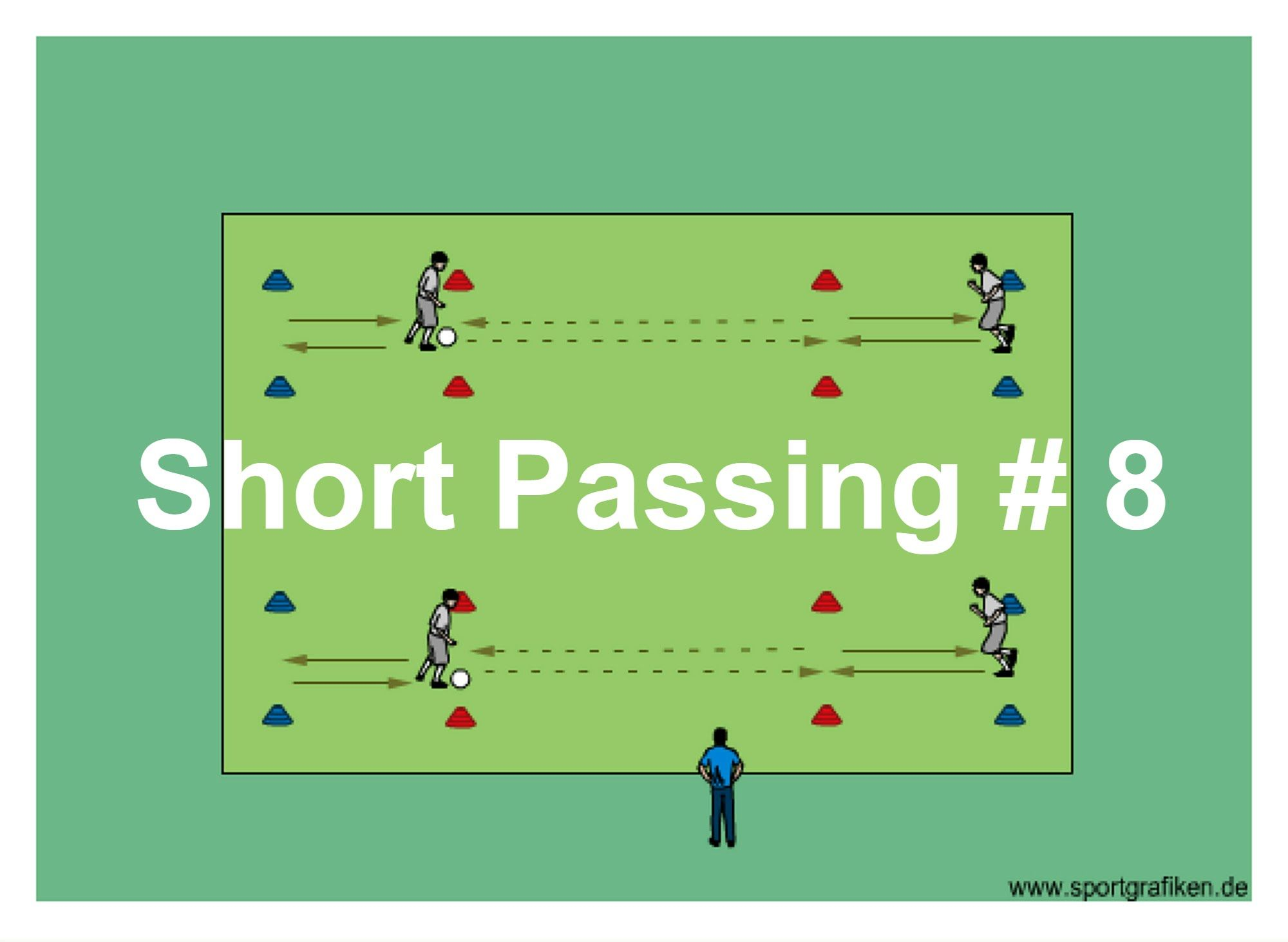 Short Passing 8 Develop Communication Technique Coordination Movement And Receiving Skills Wit Soccer Drills For Kids Soccer Drills Soccer Passing Drills