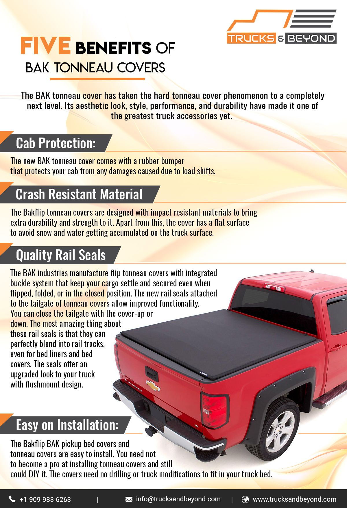 Five Benefits Of Bak Tonneau Covers Pickup Bed Covers Truck Bed