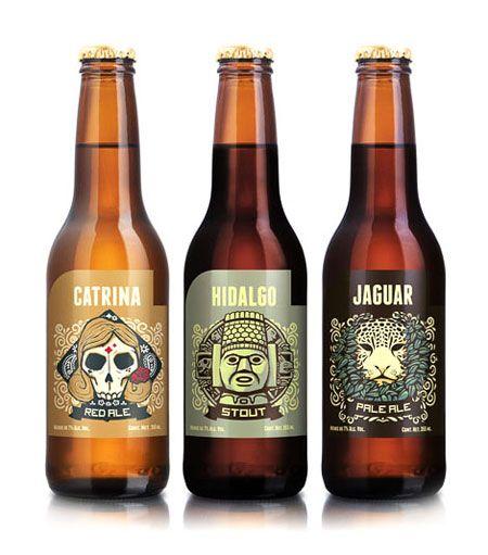 Cerveceria Hacienda Bottles