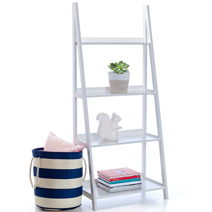 Ladder Bookshelf - White | Kmart | Ladder bookshelf ...
