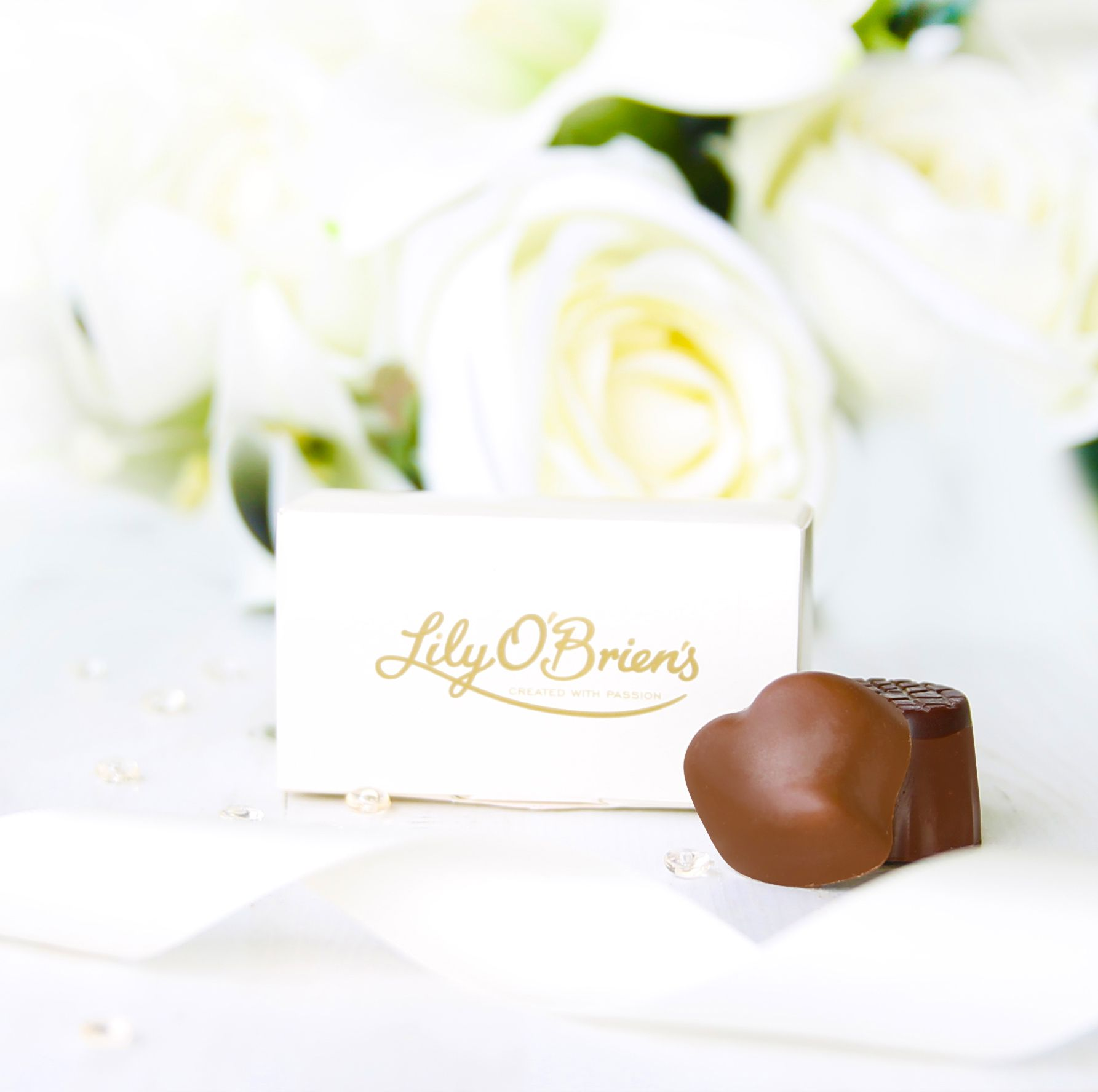 Lily O\'Brien\'s Chocolate Wedding Favours are a beautiful addition to ...