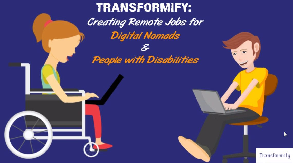 Transformify is creating remote jobs for Digital Nomads