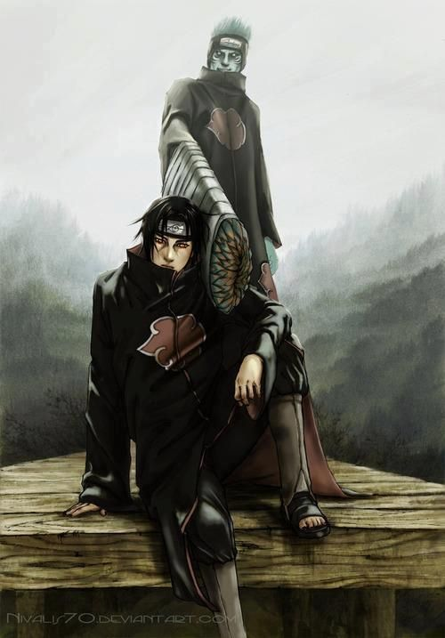 Itachi Kisame Brotherhood Itachi Uchiha Itachi Anime Naruto