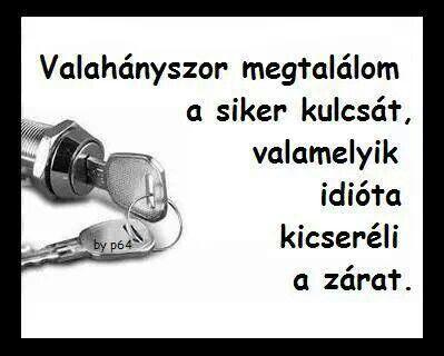 Siker kulcsa