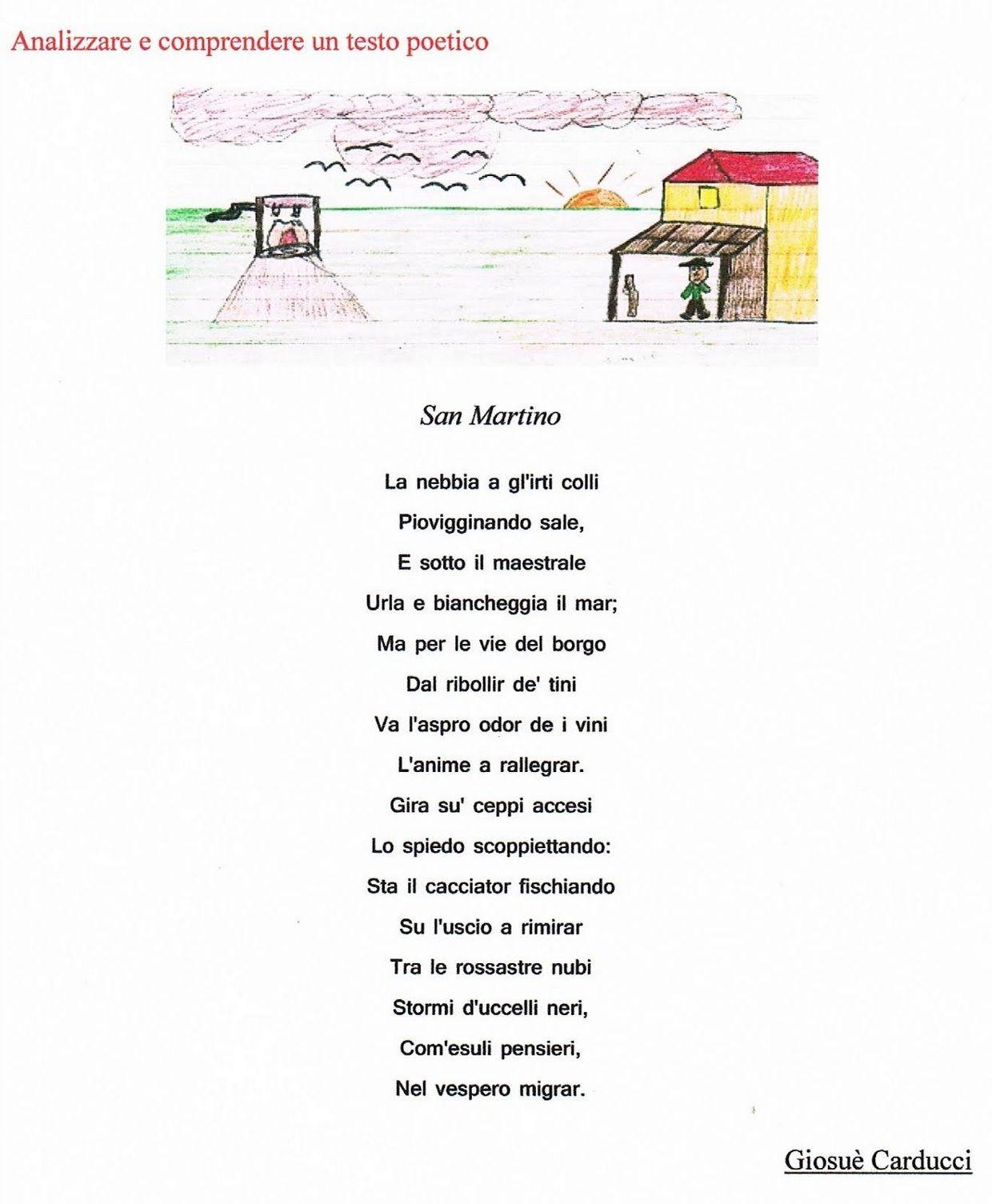 Poesia- San Martino - ThingLink