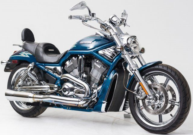 Harley Davidson Vrsc Harley Davidson Harley Night Rod Blue Motorcycle