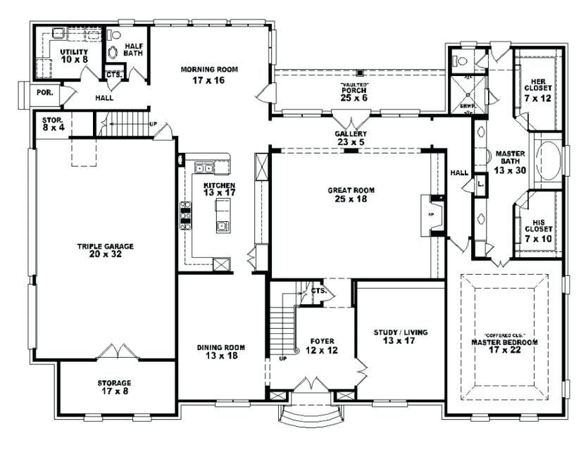 Four Bedroom House Plans One Story 4 In Kenya 3 Bathroom 4 Bedroom House Designs Unique Floor Plans Open Floor House Plans