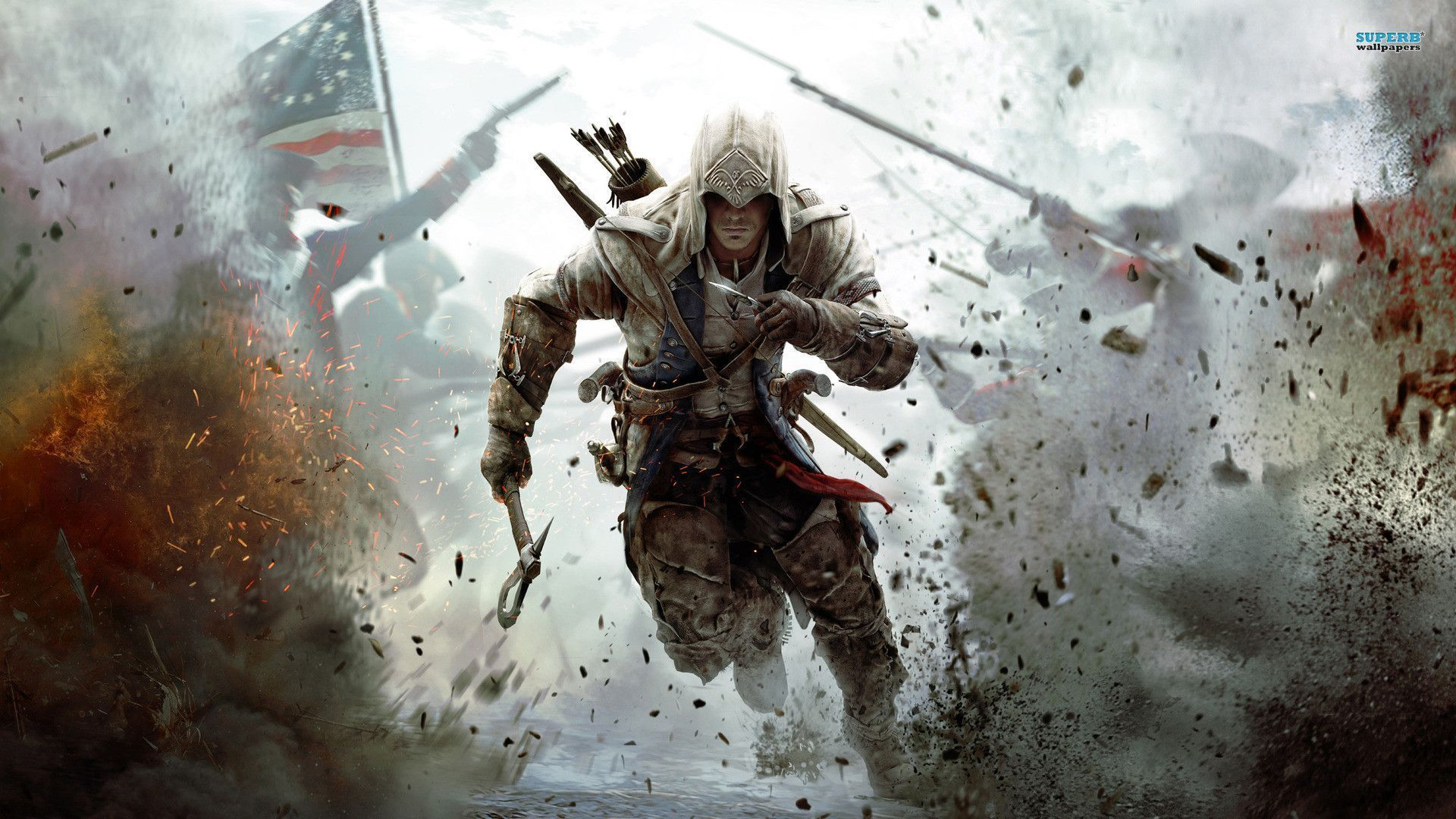 Assassins Creed 3 Wallpapers Hd Wallpaper Cave Assassin S Creed Wallpaper Assassins Creed Logo Assassins Creed 3