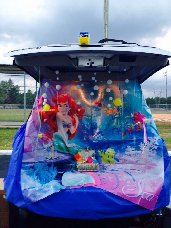 Little Mermaid Trunk Or Treat Trunk Or Treat Truck Or