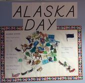 For Alaska Day my kindergarten students used water colors to paint coloring page For Alaska Day my kindergarten students used water colors to paint coloring page