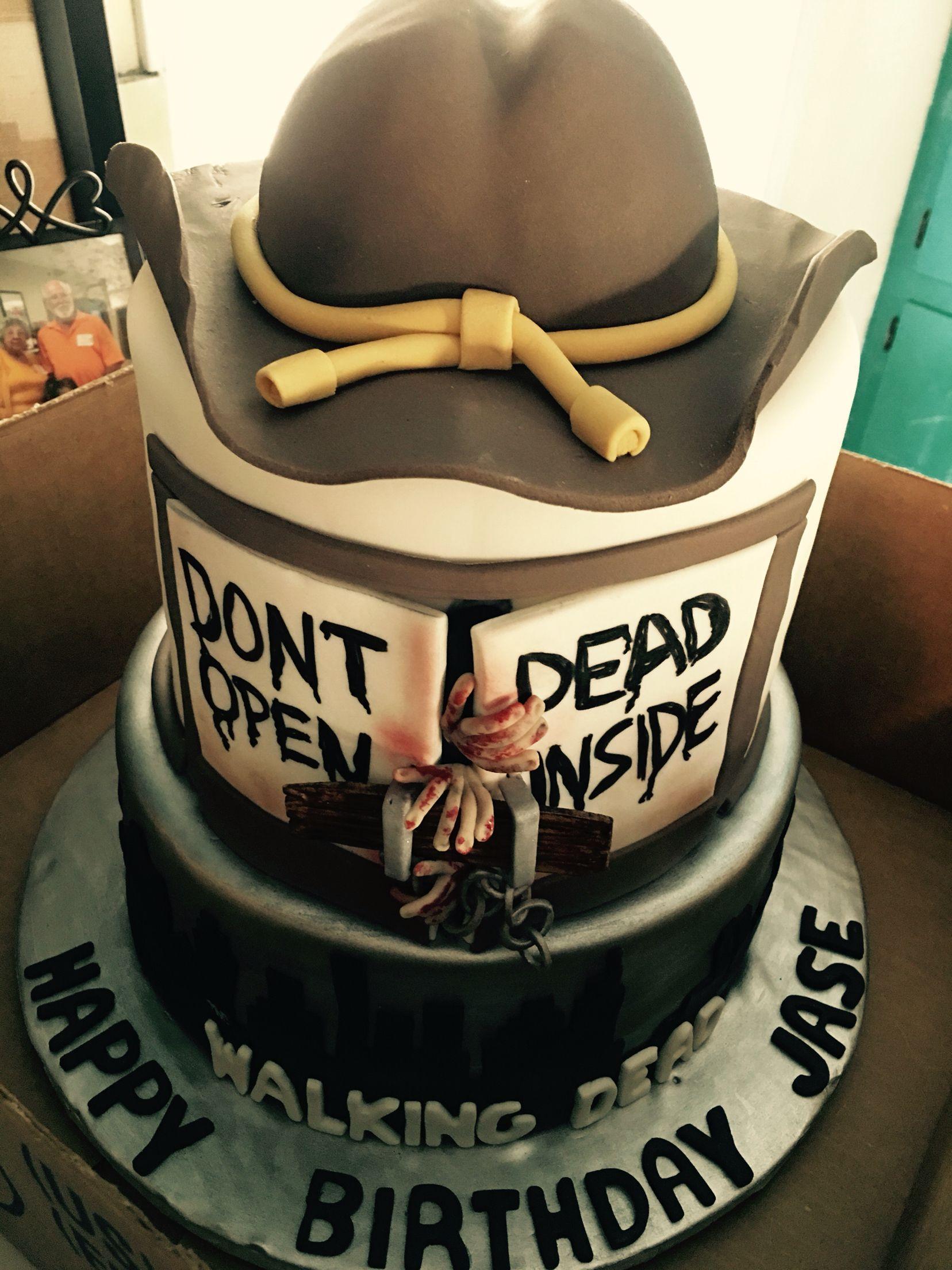 The Walking Dead Birthday Cake Jase Wyatt Pinterest Birthday