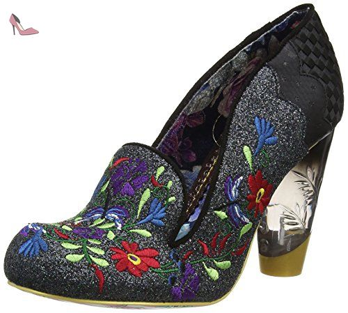 Irregular Choice Kanjanka, Escarpins FemmeRougeRouge, 36 EU (3.5 UK)