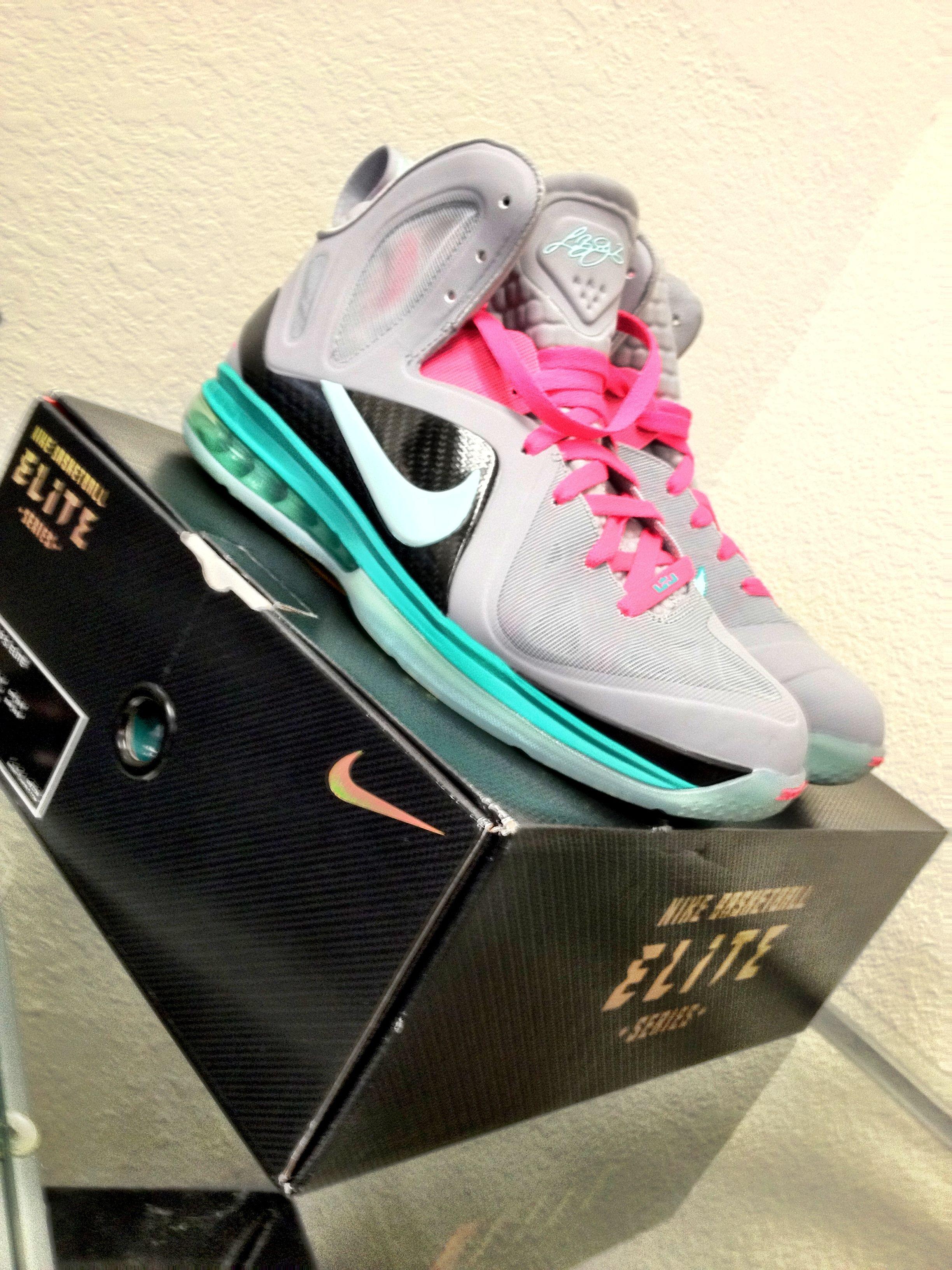 southbeach #nike #sneakers #shoes #miami #heat #lebron