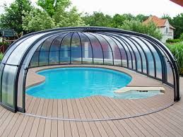 Affordable Glass Enlclosure Around Pools Air Dome Swimming Pool