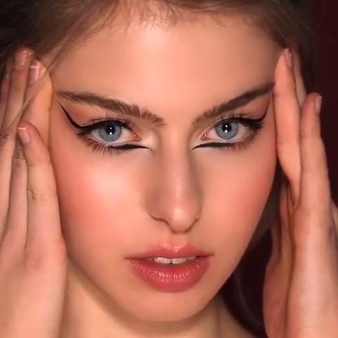 Photo of AMAZING DOUBLE EYELINER TUTORIAL #makeuptutorial #eyeliner