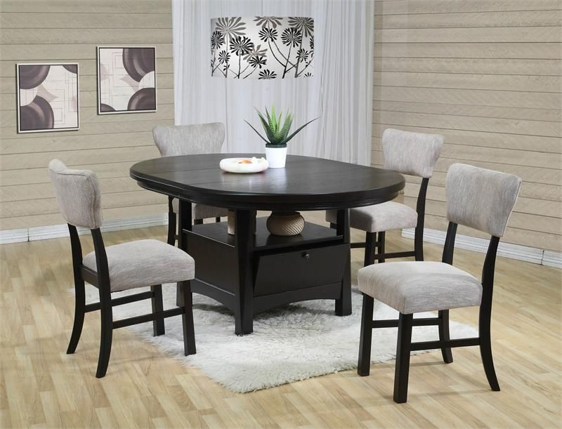 Best Round Dining Table Bassett Awesome Casual Dining Room ...