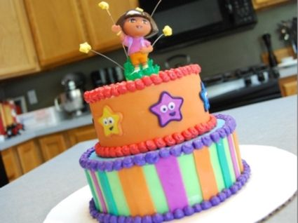 Dora the Explorer Cake Gabby 2nd birthday Pinterest