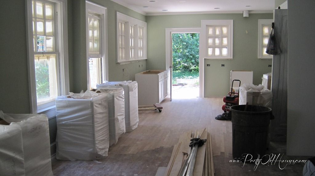 Sherwin Williams Quot Softened Green Quot Just Painted Our