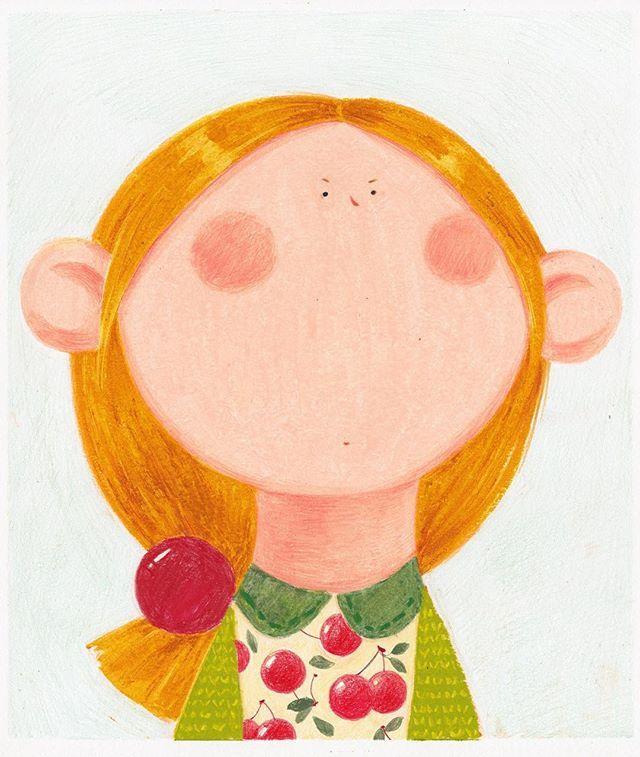 Oil Pastel Art, Illustration