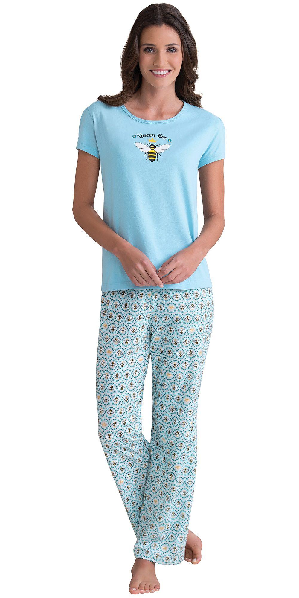 be3f94f19e7c77 Queen Bee Pajamas Pjs An Sleepy Time Pinterest Queen Bees