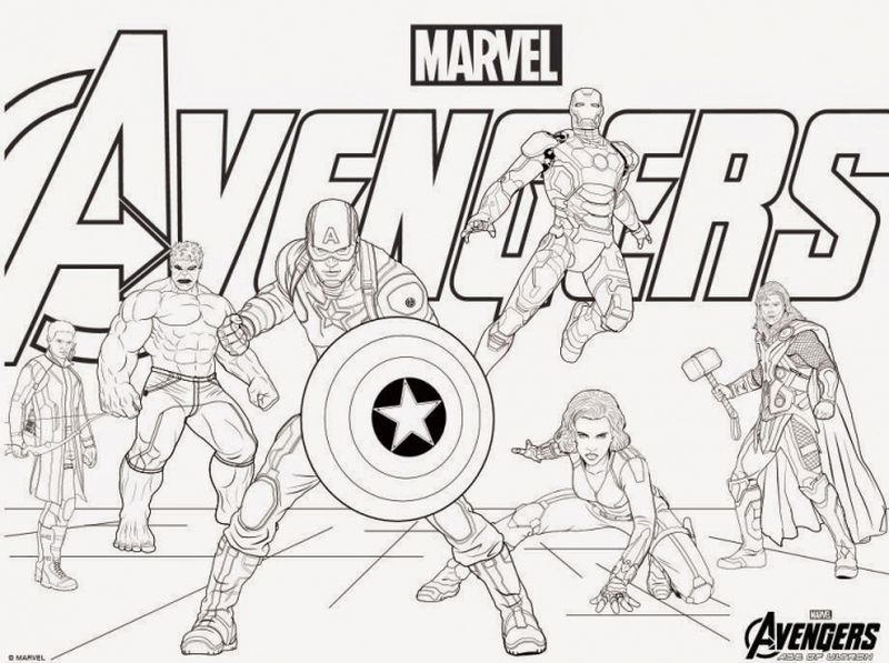 Avengers Coloring Pages Ideas Avengers Coloring Pages Captain America Coloring Pages Avengers Coloring