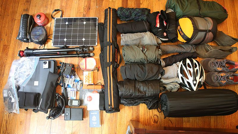 Lightweight Bike Touring Pack List - Camp Bike Hike #camping #hiking #outdoors #tent #outdoor #caravan #campsite #travel #fishing #survival #marmot http://bit.ly/2mZ3fHX